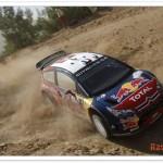 WRC 2008, Rally de Turquía, Loeb primer lider