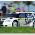 El Skoda Fabia S2000, coche cero del Rally Sanremo