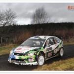 WRC 2009, Rally de Irlanda. Aava lidera tras el primer bucle