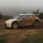 Citroen DS3 WRC, primeros tests