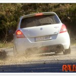 Primeros tests del Suzuki Swift Copa 2012