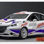 Roberto Solís vuelve a los rallyes con un 208 R2