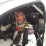 Amador Vidal con el Polo N1 en el Rallye de Noia