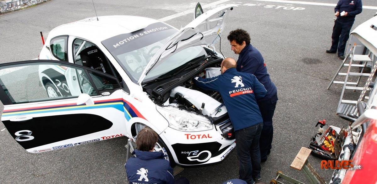 Race Seven adquiere un Peugeot 208 R2