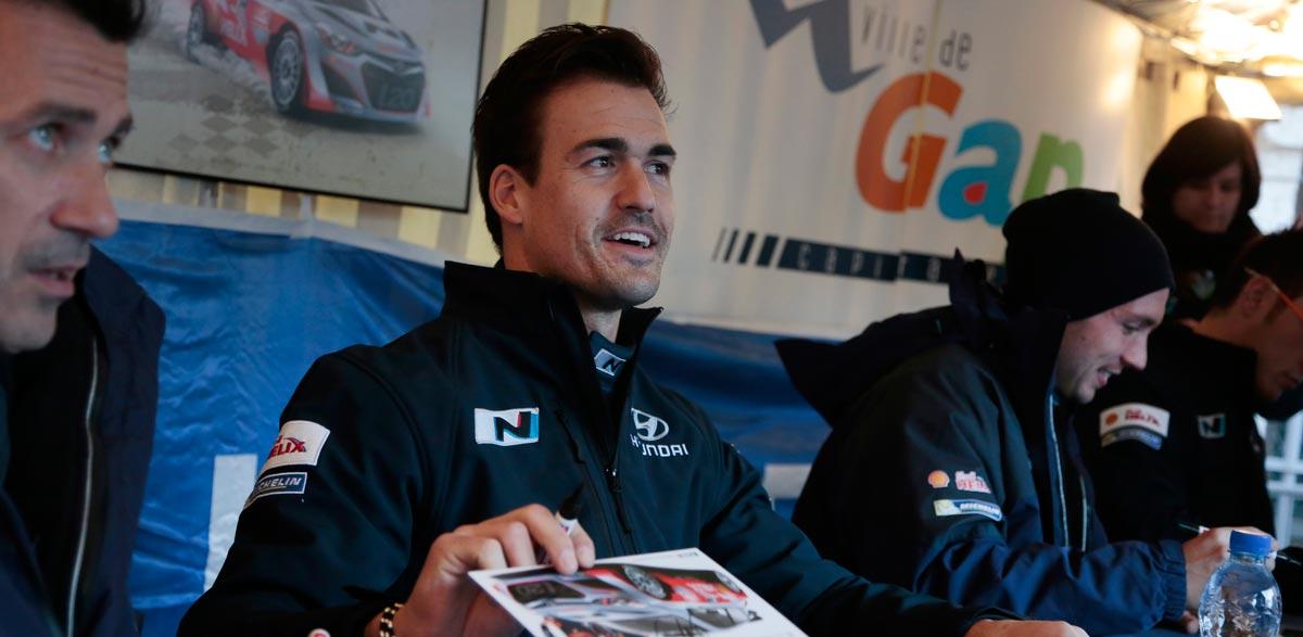 Dani Sordo, Rallye Montecarlo 2014