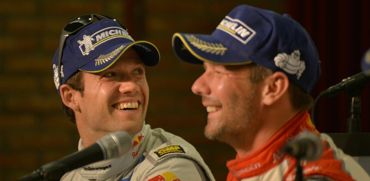Sebastien Ogier y Sebastien Loeb, Rallye de Argentina 2013