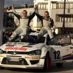 Amador Vidal gana el Rally de Tierra de Curtis