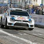 VW domina el primer y único tramo de hoy, en Lisboa