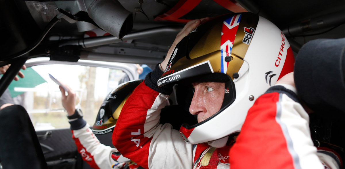 Casco Kris Meeke, Rallye de Argentina 2014