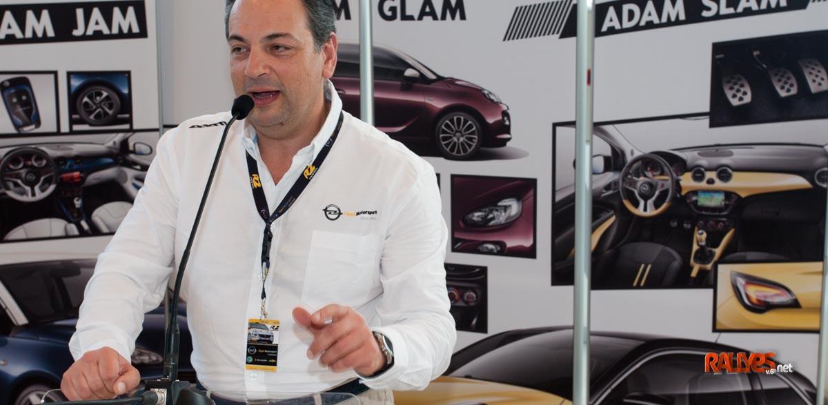 Javier Bollo: «En el equipo Opel Motorsport seguimos pensando cosas nuevas para próximas temporadas»