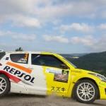 47 Rallye de Ourense, Joan Vinyes no dio opción en la División II