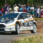 Crónica 47 Rally de Ourense. Primera victoria de Fuster con el Ford Fiesta.