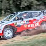 """Dani Sordo, el más rápido en el """"Forest Rally Stage"""" de Goodwood"""