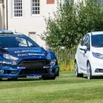 El nuevo Ford Fiesta WRC, listo para el Rallye de Finlandia