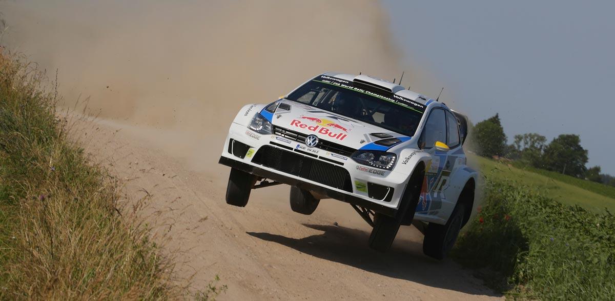VW Polo R WRC, Rallye de Polonia 2014