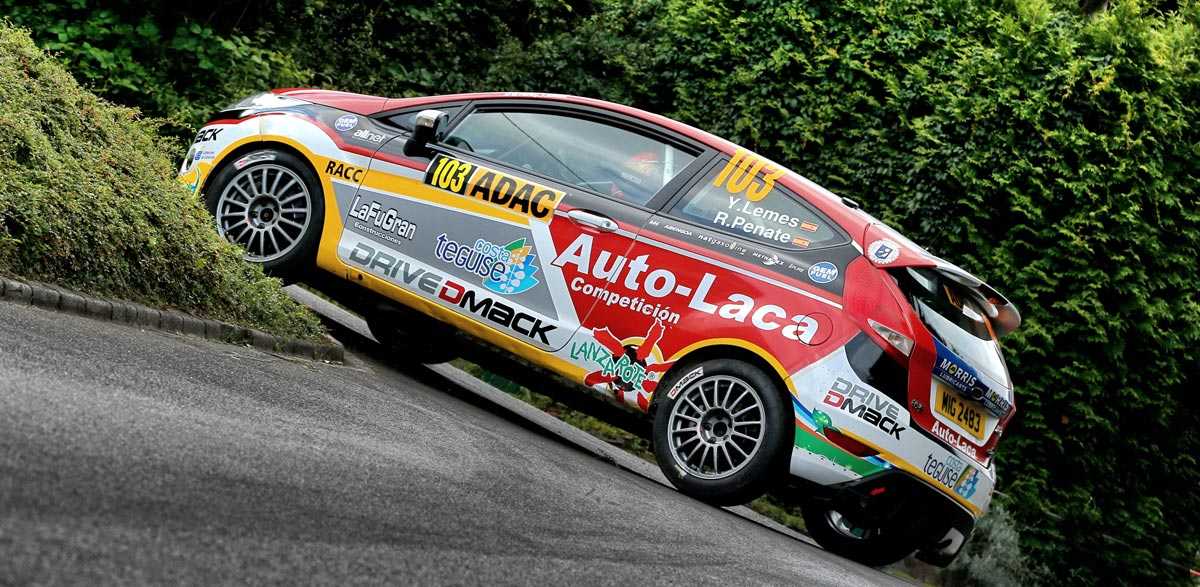 Yeray Lemes, Drive DMack Trophy, Rallye de Alemania 2014