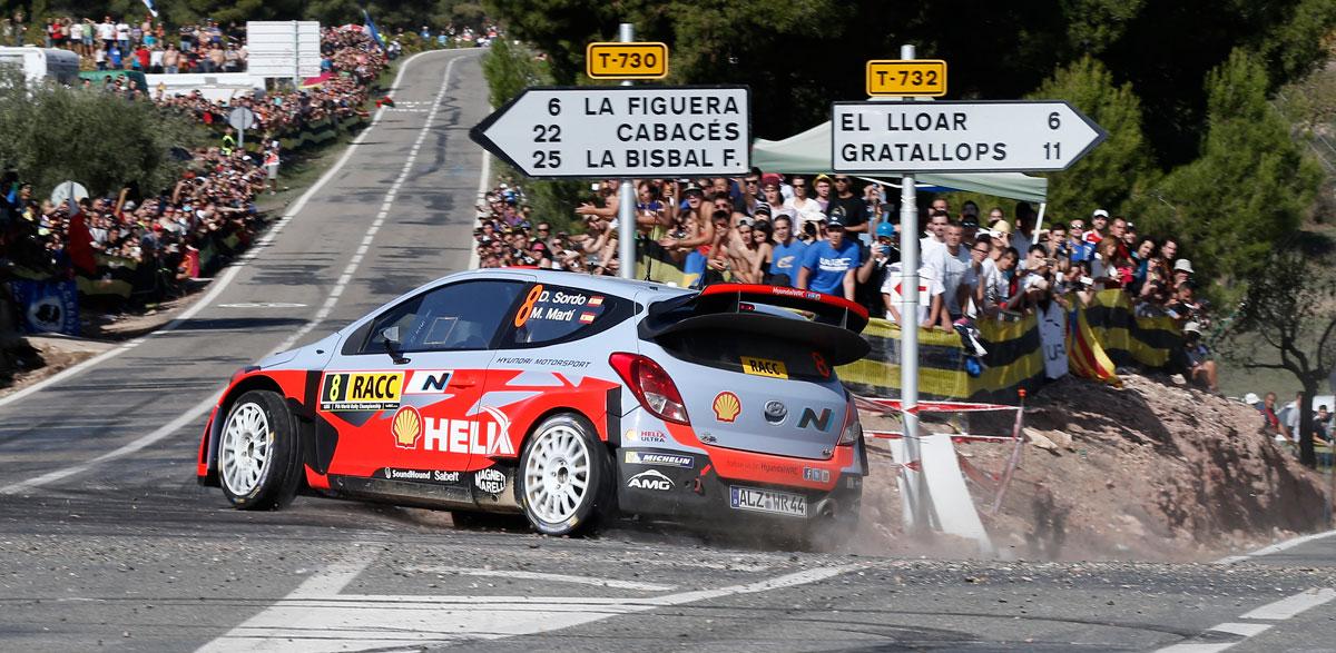 Dani Sordo, Rallye RACC 2014.