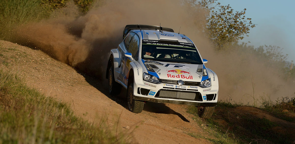 Sebastien Ogier, Rallye RACC 2014.
