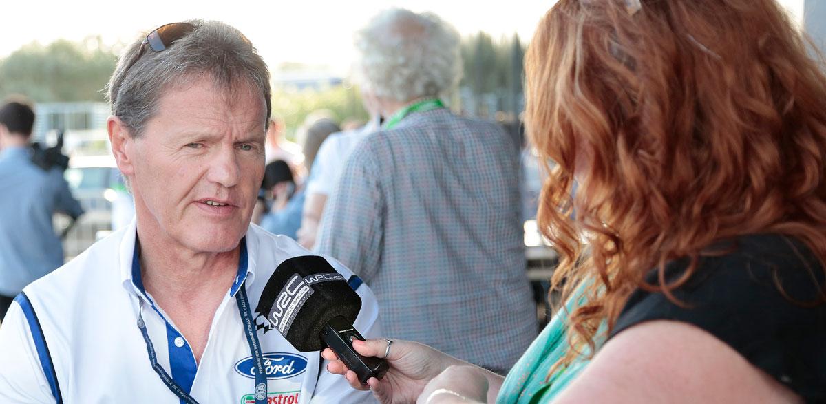 Malcolm Wilson, Rallye RACC 2014.