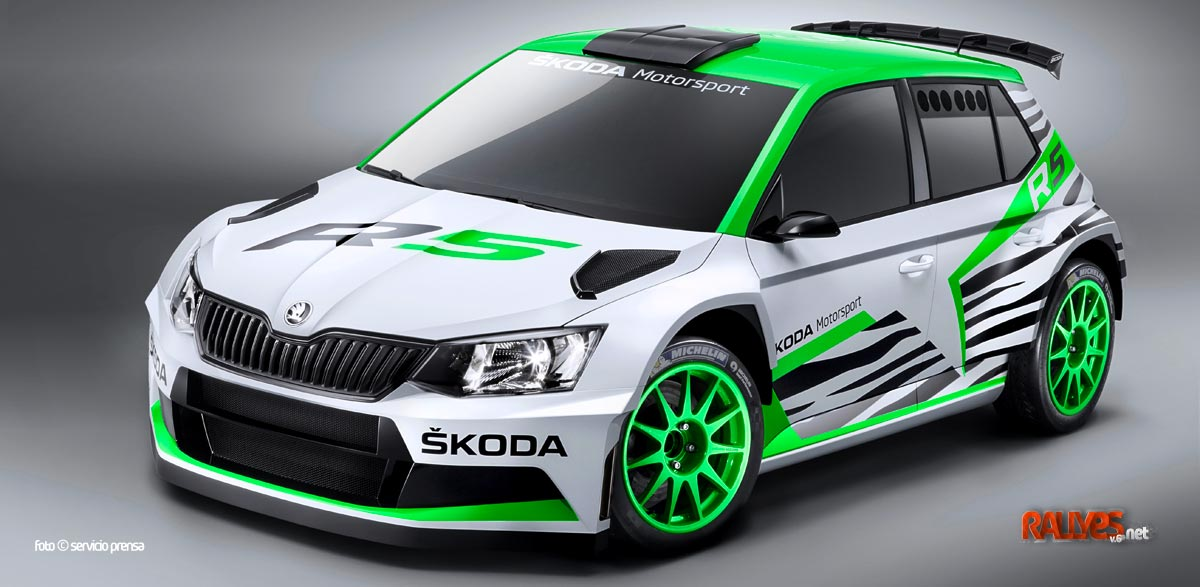 Así es el Skoda Fabia R5