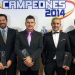 La RFEDA entregó sus trofeos a los Campeones de España 2014
