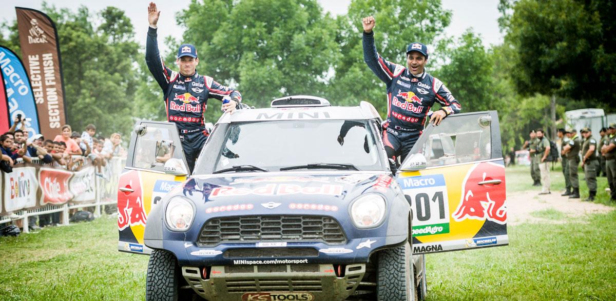 Nasser Al-Attiyah logra su segunda victoria en el Dakar.