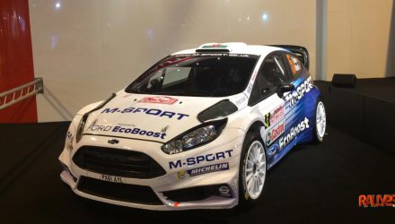 Ford Fiesta RS WRC 2015.