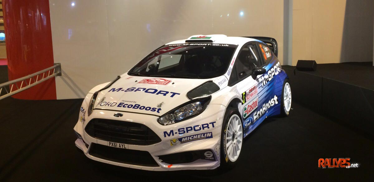 Ford Fiesta RS WRC 2015.