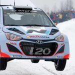 Hyundai anuncia sus pilotos para el Rallye de Suecia