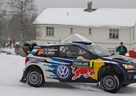 Andreas Mikkelsen, Rallye de Suecia 2015.
