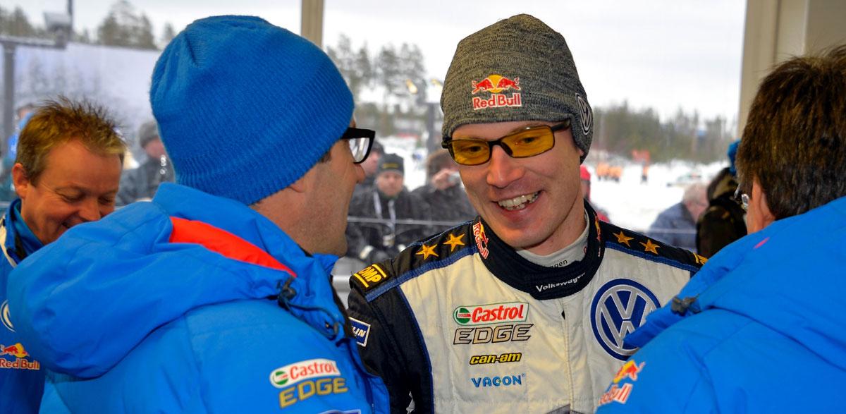 Jari-Matti Latvala, Rallye de Suecia 2015.