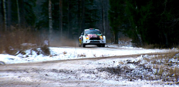 Vídeo, qualifying Rallye Liepäja