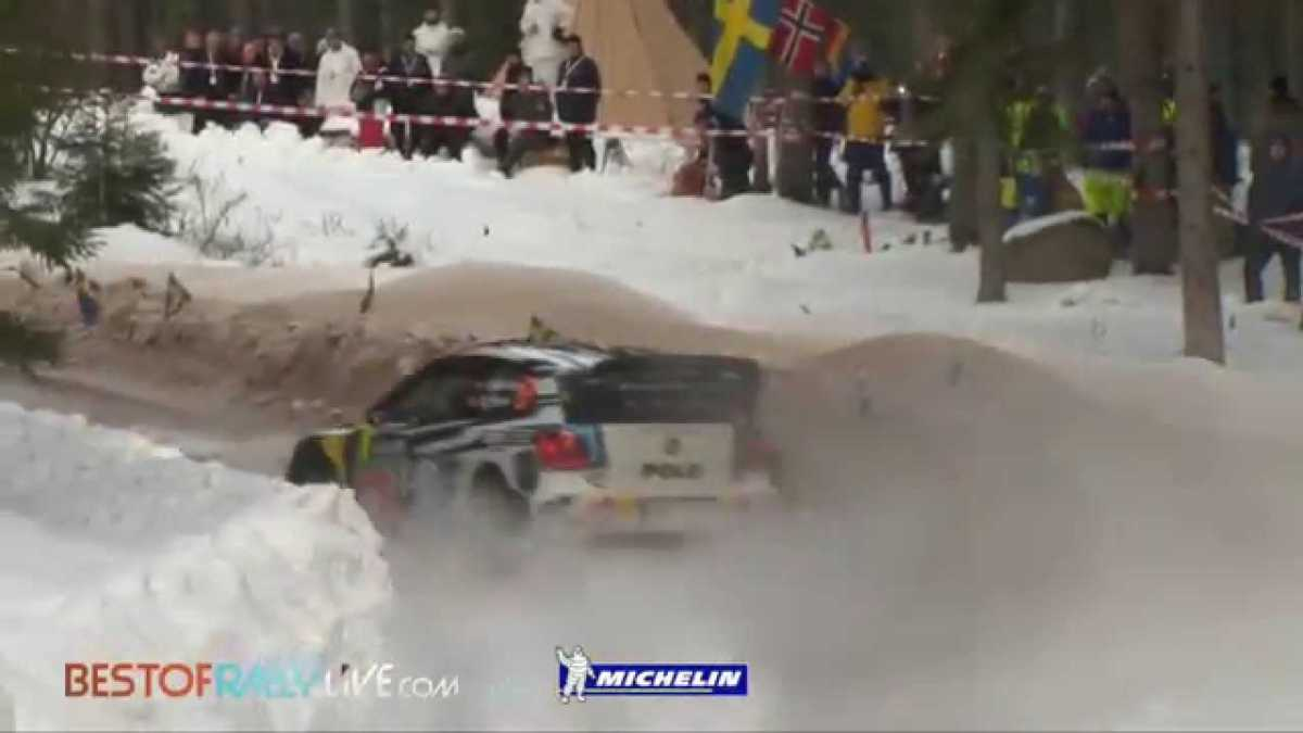 Video, shakedown del Rallye de Suecia