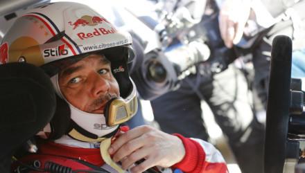 Sebastien Loeb, Rallye Montecarlo 2015.
