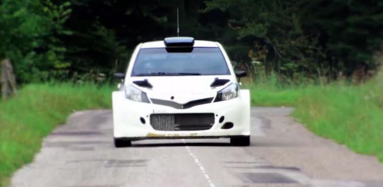 Toyota Yaris WRC.