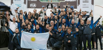 VW, Rallye de Argentina 2015.