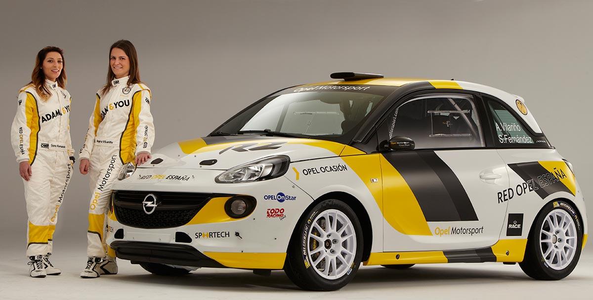 El equipo Opel se presenta para la temporada 2015. Angela