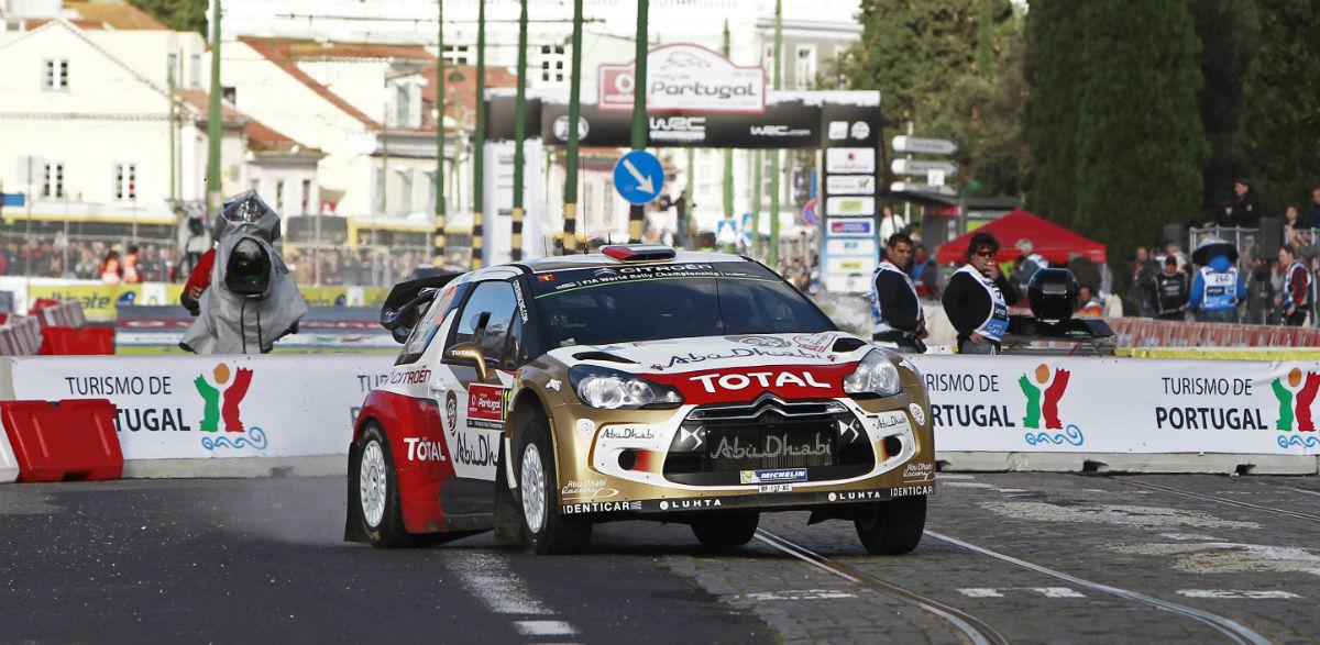 Khalid Al-Qassimi, Rallye de Portugal 2014.