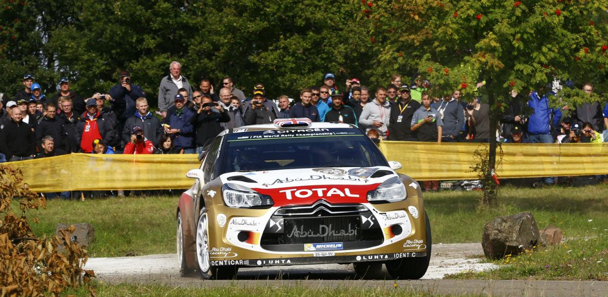 Kris Meeke, Rallye de Alemania 2015