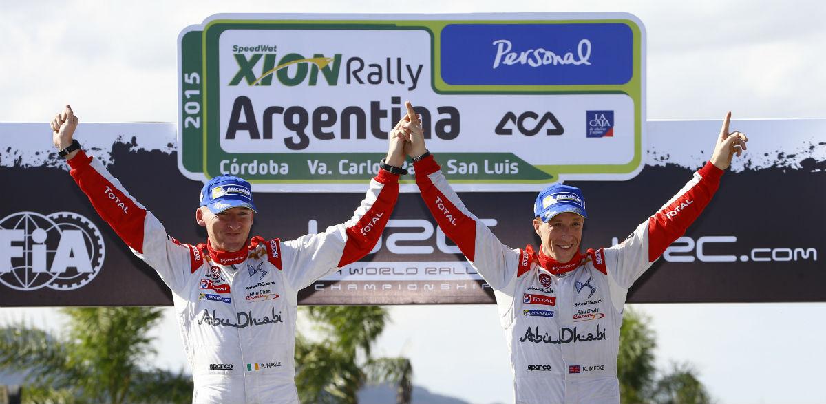 Kris Meeke, Rallye de Argentina 2015.
