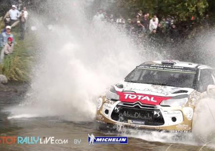 Video, los mejores momentos del Rally de Argentina 2015