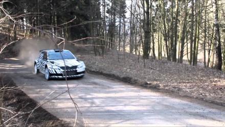 Video, nuevos tests del Skoda Fabia R5