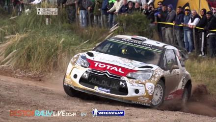 Video, primera etapa del Rally de Argentina 2015