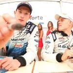 Ott Tanak y Elfyn Evans hablan sobre el nuevo Ford Fiesta RS WRC