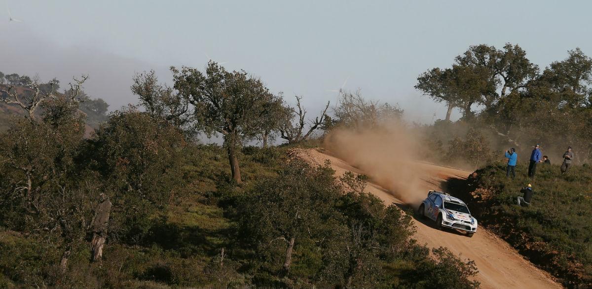 Sebastien Ogier, Rallye de Portugal 2014.