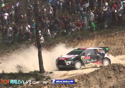 Resumen en video de la segunda etapa del Rally de Portugal 2015