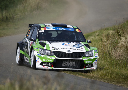 05 LOIX Freddy GITSELS Johan Skoda Fabia R5 action during the 2015 European Rally Championship ERC Ypres Rally,  from June 18 to 20th 2015 at Ypres, Belgium. Photo Florent Gooden / DPPI