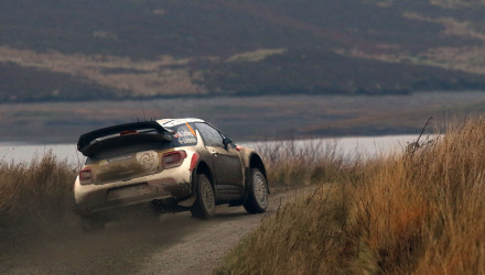 Mads Ostberg, Rallye de Gales 2014.