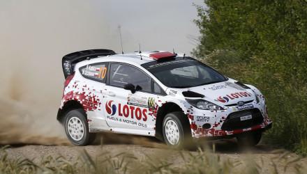 Robert Kubica, Rallye de Polonia 2014.
