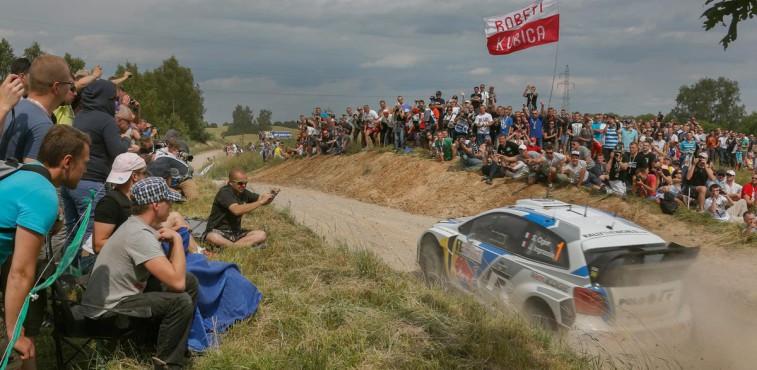 Sebastien Ogier, Rallye de Polonia 2014.